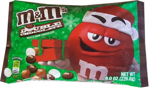 Bag of Double Chocolate M&M's